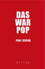 Cover. Paul Divjak_Das war Pop