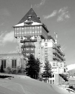 Palace Hotel, St.Moritz ©Paul Divjak