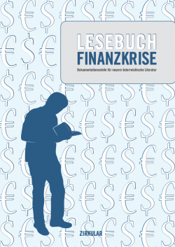 Cover Lesebuch Finanzkrise