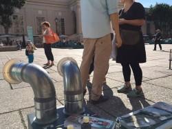 """""""Im Prater blüh´n wieder die Bäume"""", Duftinstallation im öffentlichen Raum"""